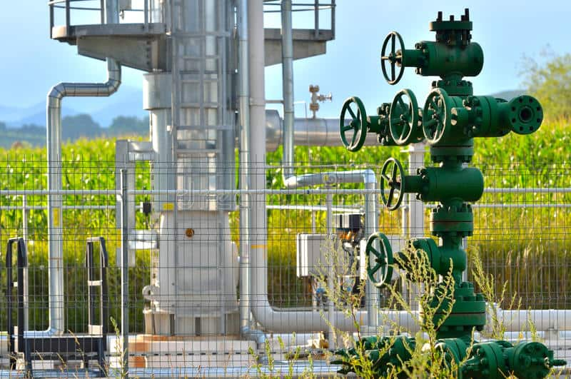 φυσικό αέριο βιομηχανία